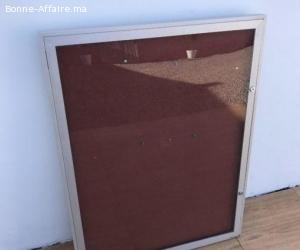 Tableau affichage vitrine 109x82cm
