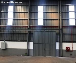 2 Locaux de production ou stockage de 3400m²  ZI Ain Sebaâ