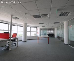 5 Espaces de bureaux de 160 m² à 380 m² à sidi maarouf