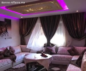 Appartement bien meublé à cité EL Houda