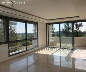 Appartement de standing avec terrasse  à Rabat Souissi