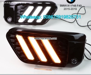 BMW X1 F48 F49 LED cree DRL day time running lights driving