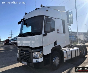 CAMION RENAULT T 460 - 591 514 kms - 2015 - 4X2 - EURO 6