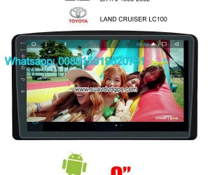 LEXUS LX470 Car audio radio android GPS navigation camera
