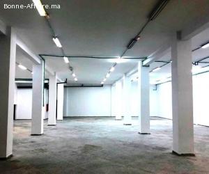 Local industriel de 900 m² à la ZI Mohammedia