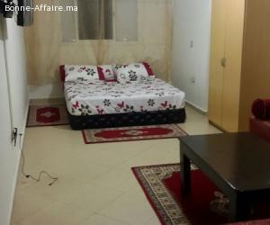 Location d'une studio bien meublè à l'agdal, Rabat