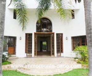 Location villa à Rabat au quartier Souissi