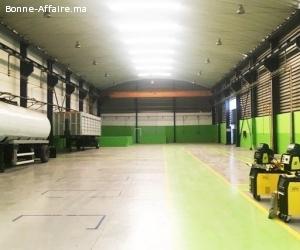 Locaux industriels de 1200 à 5000m2 à Ain sebaa