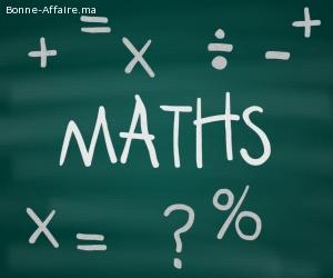 Prof de maths à domicile tous les niveaux
