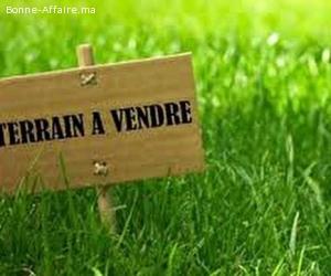Terrain à vendre, bien placé zone villa à Rabat Souissi