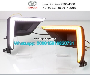 Toyota Land Cruiser Prado FJ150 LC150 DRL LED Daytime Runnin